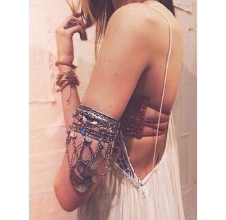 jewels arm candy armlet upper arm cuff arm cuff cuff tribal pattern aztec underwear