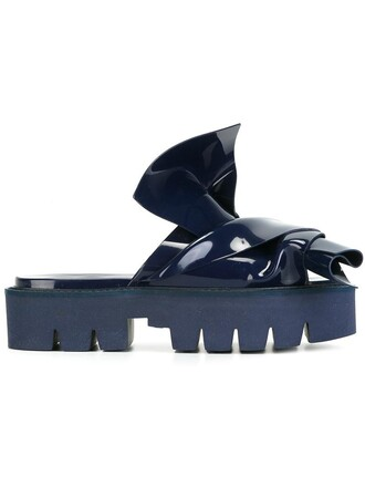 women sandals blue shoes