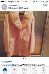 coat,rose,warehouse,mantel coat