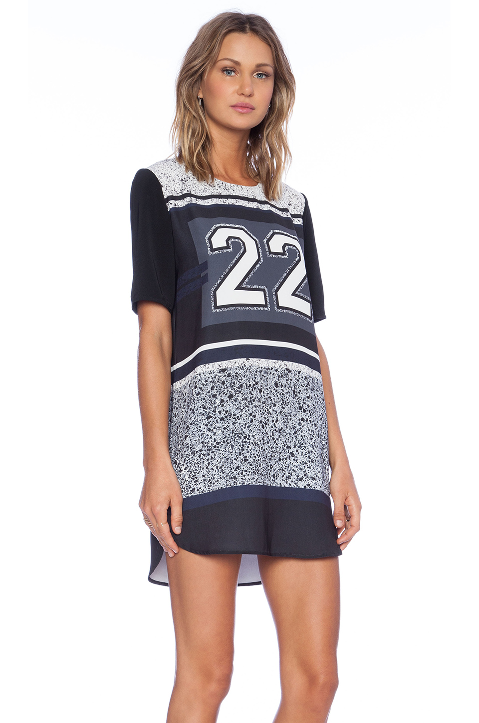 Finders keepers good fortune dress in 22 print from revolveclothing.com