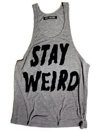 shirt grey cool singlet weird cool shirts