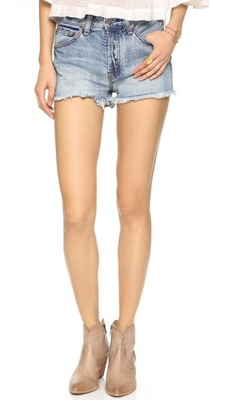 shorts denim rock
