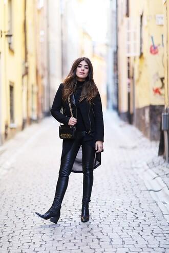 dulceida blogger jacket cardigan shirt pants shoes bag