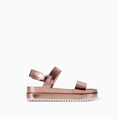 9485aee4bfd Flat sole sandals - Shoes - TRF - SALE