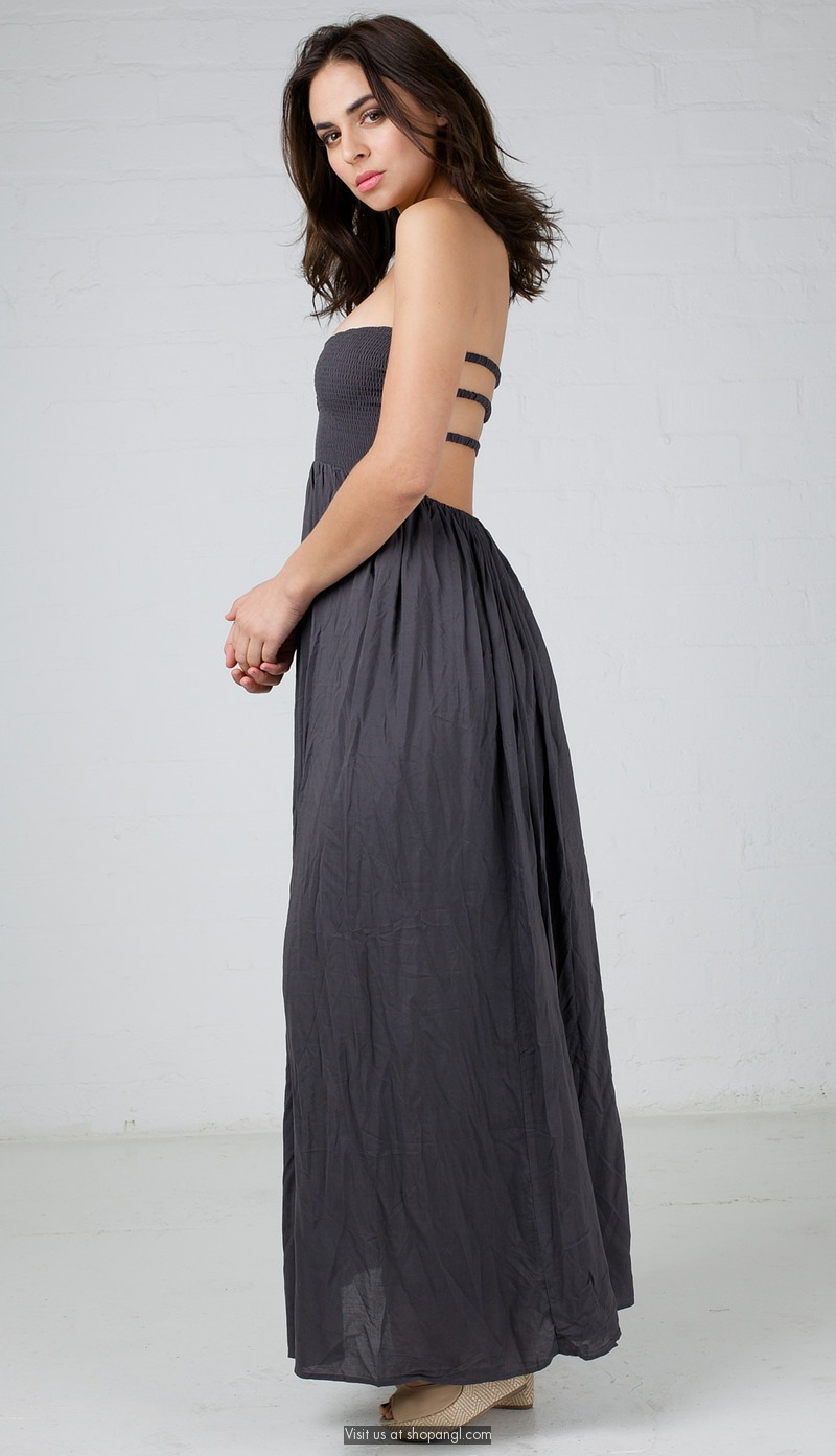 Images of Tube Maxi Dress - Reikian