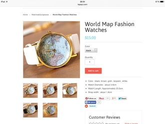 jewels white gold swag watch oh my vogue