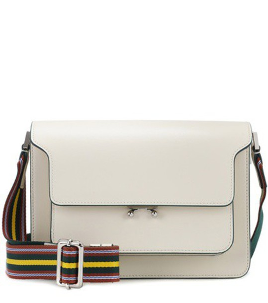 MARNI bag shoulder bag leather white