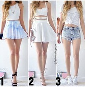 skirt,skater skirt,mini skirt,white skirt,high waisted skirt,blue skirt,outfit idea,outfit,summer outfits,cute outfits,spring outfits,date outfit,party outfits,clubwear,stylish,style,fashion,trendy,top,white top,summer top,cute top,crop tops,white crop tops,shorts,High waisted shorts,distressed denim shorts,denim shorts,high waisted denim shorts,summer shorts,ripped shorts,sneakers,white sneakers,low top sneakers,converse,heels,high heels,cute high heels,lace up heels,shoes,sexy shoes,cute shoes,party shoes,summer shoes,shirt,white shirt,white t-shirt,black heels,black shoes,black high heels,ankle strap heels,tank top