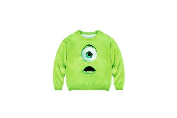 movie sweater monstersink film jumper colourful adorable cheap