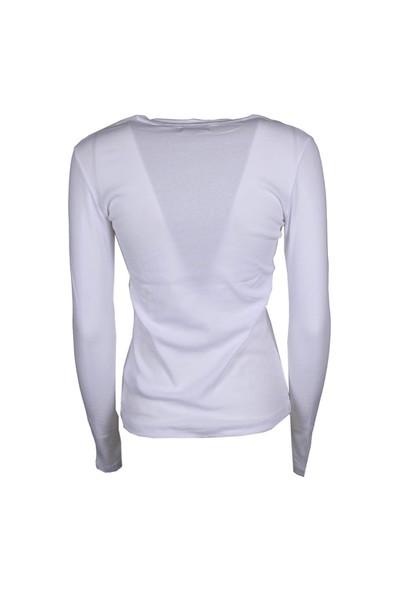 sweatshirt white bright sweater