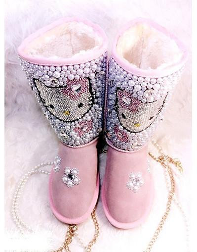 Hello kitty snowboots