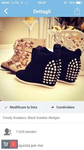 shoes beautiful black black high heels borchie