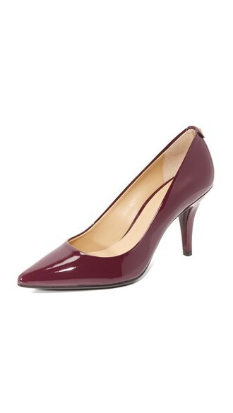 pumps plum shoes