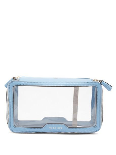 Anya Hindmarch bag leather light blue light blue