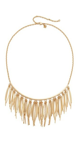 collar necklace statement necklace gold jewels
