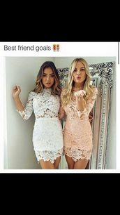 dress,white,white dress,crochet,crochet dress,lace,lace dress,long sleeves,long sleeve dress,summer,summer dress,summer outfits,sexy,sexy party dresses,party,party dress,sexy dress,party outfits,classy,romantic summer dress,bodycon,bodycon dress,cute,cute dress,beautiful,girly,girly dress,see through,see through dress,date outfit,birthday dress,pool party,celebrity,celebstyle for less,blogger,rose