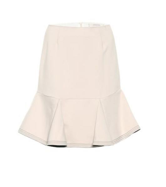 Dorothee Schumacher Emotional Essence miniskirt in beige / beige