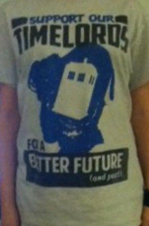 t-shirt doctor who shirt