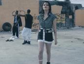 skirt,sky ferreira,blouse