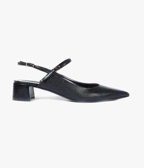Aerin Flat Sandal Black