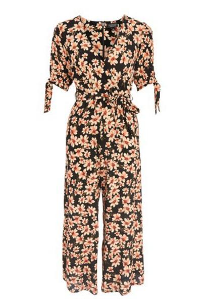 Topshop jumpsuit daisy print