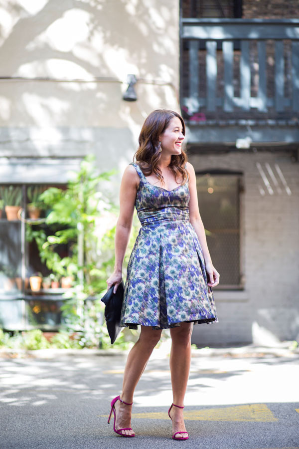 sequins and stripes blogger jewels bag make-up dress shoes