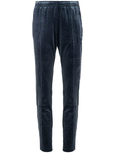 Adidas pants track pants women blue