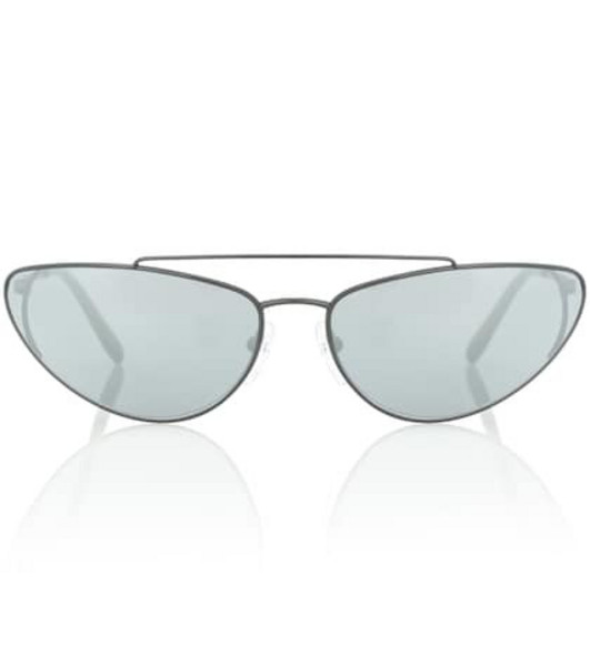 Prada Ultravox cat-eye sunglasses in black