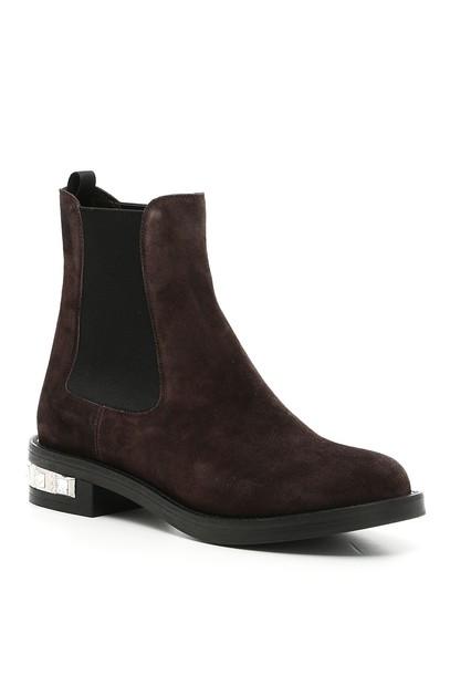 suede booties booties suede shoes