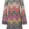 Missoni - fringed jumper dress - women - silk/polyester/spandex/elastane/viscose - 46, silk/polyester/spandex/elastane/viscose