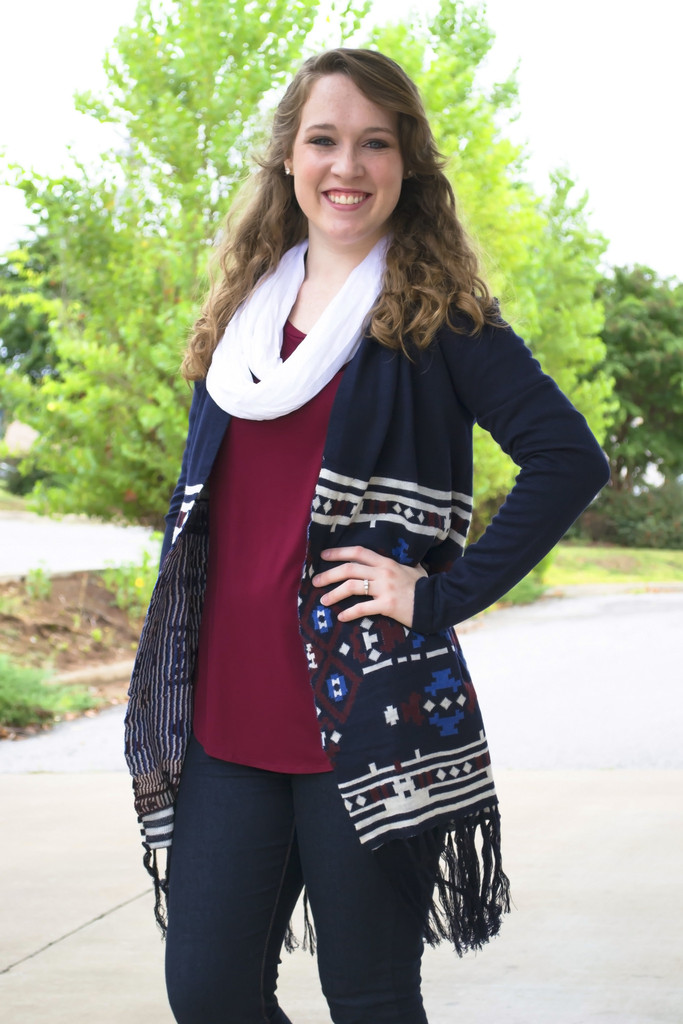 Calling It A Night Aztec Cardigan | Siloe