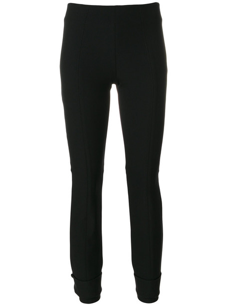 Dorothee Schumacher cropped women spandex black pants