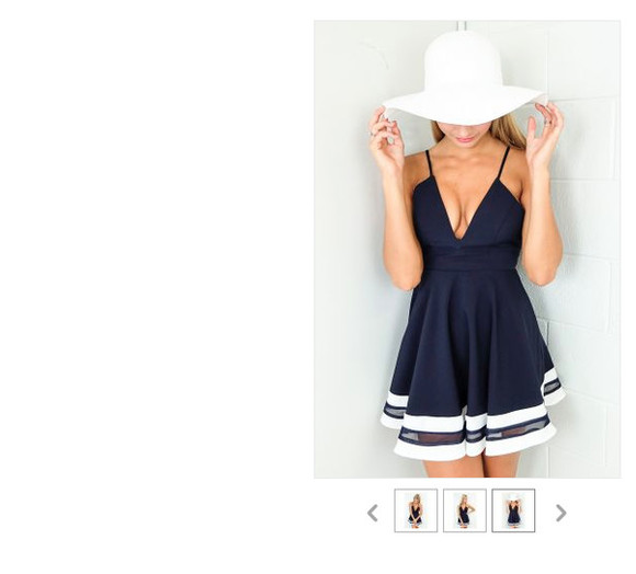 dress navy navy dress cute dress navy blue dress cocktail dresses stripes skater dress blue dress casual sailor