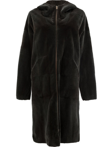 32 PARADIS SPRUNG FRÈRES coat fur women green