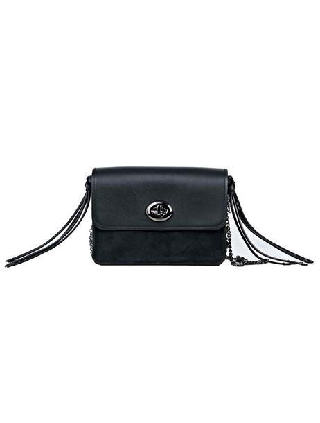 coach bag shoulder bag black