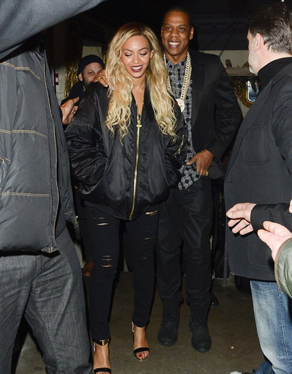 pants black beyonce shoes jacket