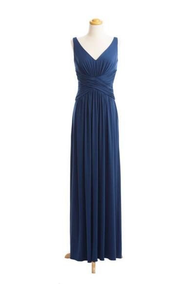 v-neck v-neck long dress V-neck dress v-neck dresses long prom dresses long v-neck long evening dresses long blue dress