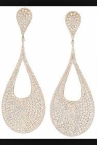 jewels white gold earrings diamonds