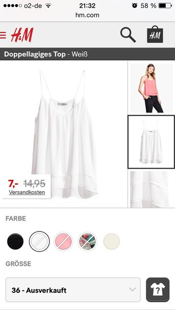 blouse h&m zara chic