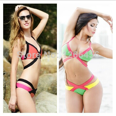 Aliexpress.com : Buy 2014 Color Block new candy colored ...