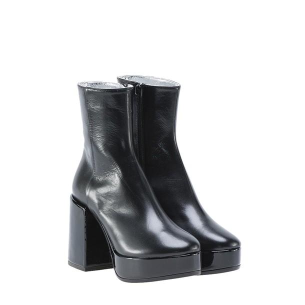 Mm6 Maison Margiela platform boots black shoes