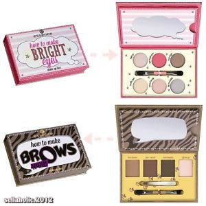 New!! essence *palette how to make 2 models *bright eyes,brows wow make