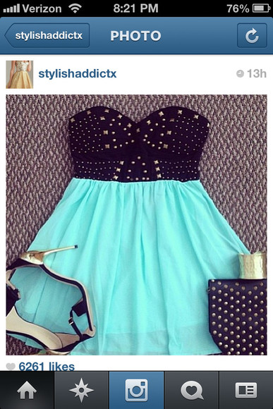 shirt aqua blue aqua skirt cute outfits instagram