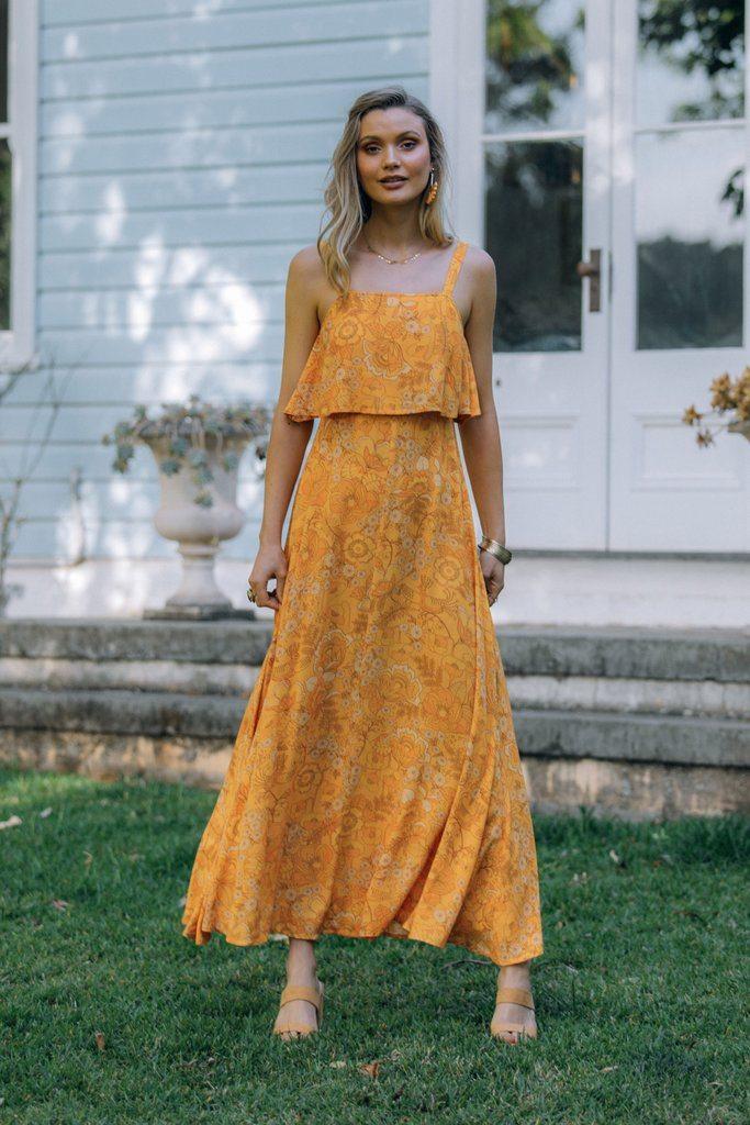 Halo dress in sunlight