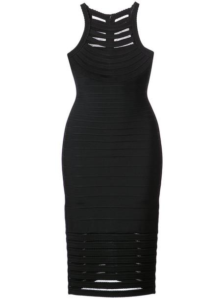 herve leger dress women spandex black