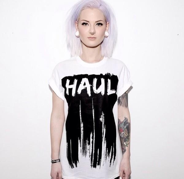 t-shirt soft grunge goth hipster