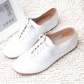shoes,white,oxfords,girl,girly,pretty,beautiful,cute,tumblr,konfirmation,confirmation,hot,flats,flat