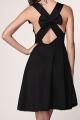 Cutout Little Black Dress - OASAP.com