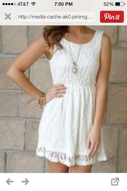 Country White Lace Dress Dress White Lace Country Dress