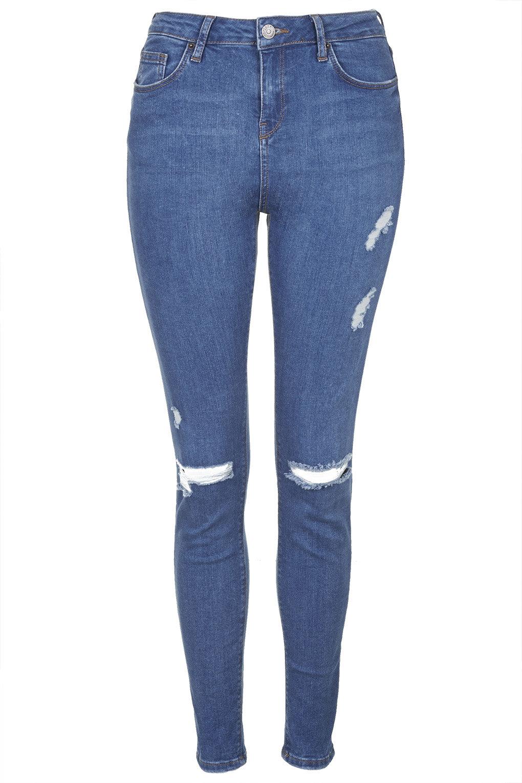 Petite moto ripped jamie jeans